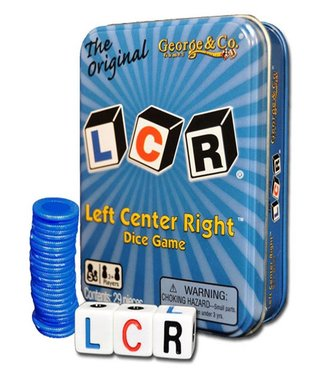LCR Dice - Left Center Right