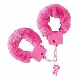 Forum Novelties Pink Fuzzy Handcuffs