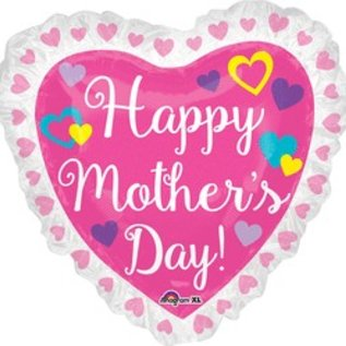 """Happy Mother's Day Heart Balloon 28"""""""