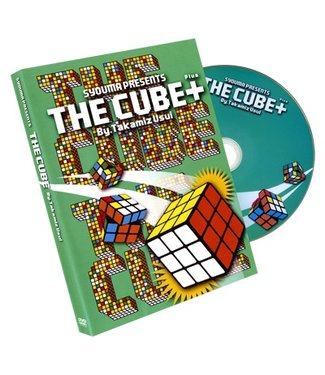 The Cube Plus, Gimmicks and DVD by Takamitsu Usui