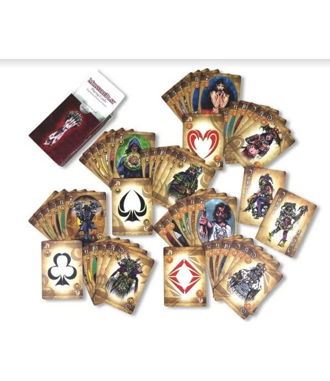 MonstrePlay Playing Cards by Mark Levine