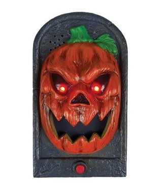Doorbell Pumpkin Light Up