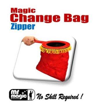 Mr. Magic Change Bag  Zipper, Red by Import