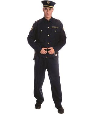 Dress Up America Police Officer Adult Medium