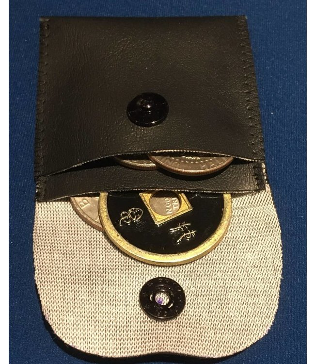 Ronjo Coin Pouch, Double w/Snap by Ronjo