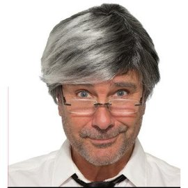 Forum Novelties Old Man Wig - Grey