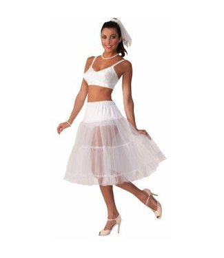 Forum Novelties Long White Crinoline