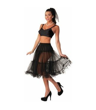 Forum Novelties Long Black Crinoline