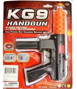 Cap Gun  KG-9 Machine Gun 8 Shot