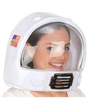 Space Helmet, Plastic- Adult