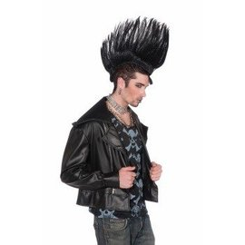 Forum Novelties Mohawk Hairpiece - Black