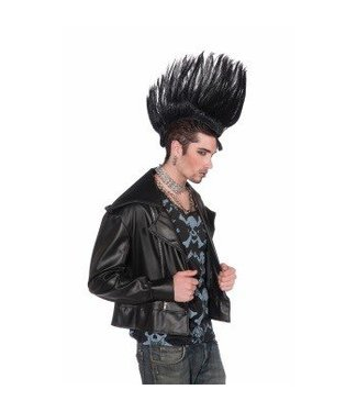 Forum Novelties Mohawk Hairpiece - Black