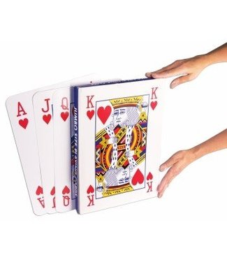 Forum Novelties Jumbo Sized Playing Cards 14 x 10 inch