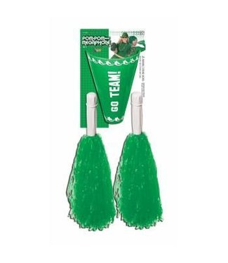 Forum Novelties Cheer Leader Pom Pom/Megaphone Green