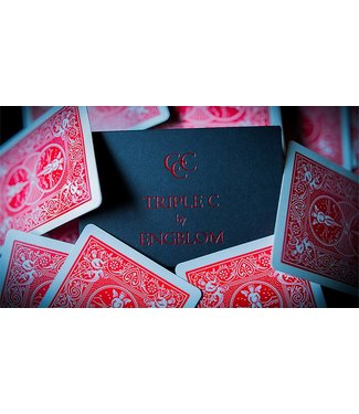 Triple C, Red - Gimmicks and Online Instructions by Christian Engblom and Expert Playing Card Company