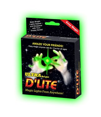 D'Lite Green Pair, Regular Size - Ultra Bright