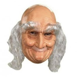 Disguise Old Man Mask - Vinyl