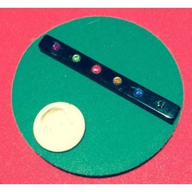 Ronjo Performance Mat Circle Close-Up, Green 4.5 inch Thick