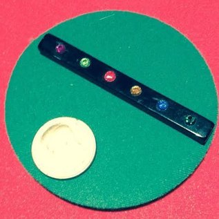 Ronjo Performance Mat Circle Close-Up, Green 4.5 inch Thick