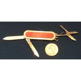 Mini Pocket Knife, File, Scissors