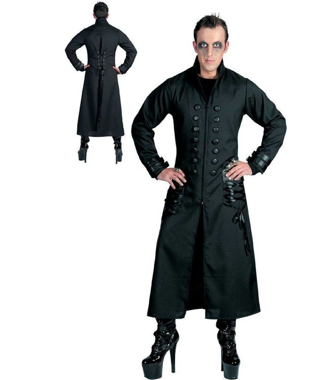 Funny Fashion Night Fright Gothic Jacket - Adult Large