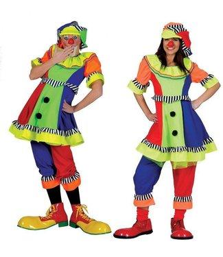 Funny Fashion Clown Olivia - Adult Medium