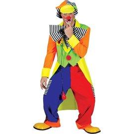 Funny Fashion Clown Olaf - Adult Medium
