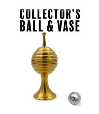 Collector's Ball And Vase, Brass by Magic Makers Inc.