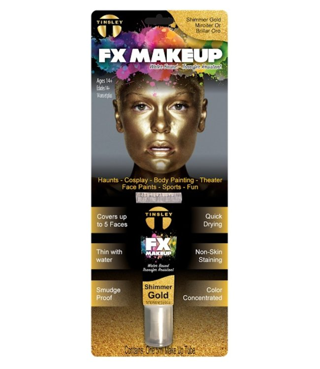 Tinsley Transfers FX Makeup, Shimmer Gold  by Tinsley