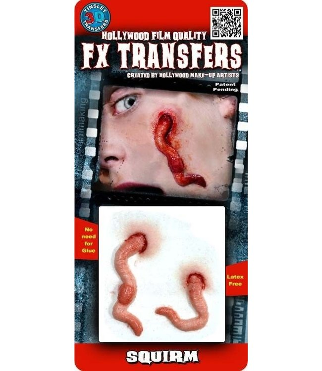 Tinsley Transfers Squirm 3D FX Transfers