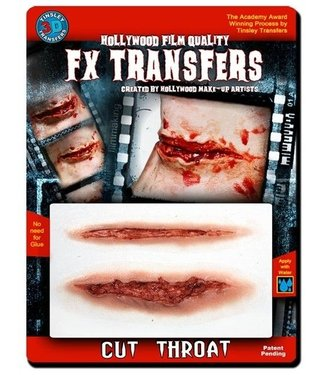 Tinsley Transfers Cut Throat 3D FX Transfers