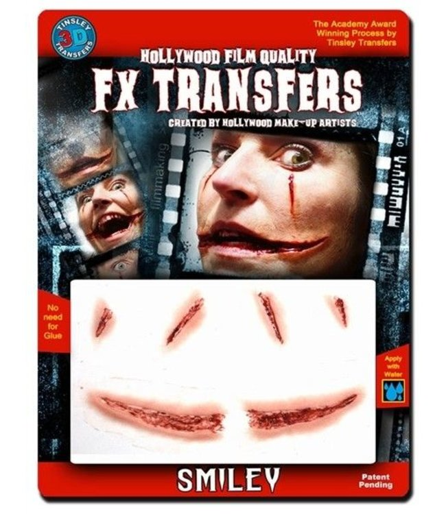 Tinsley Transfers Smiley 3D FX Transfers