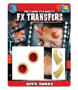Tinsley Transfers Devil Horns 3D FX Transfers