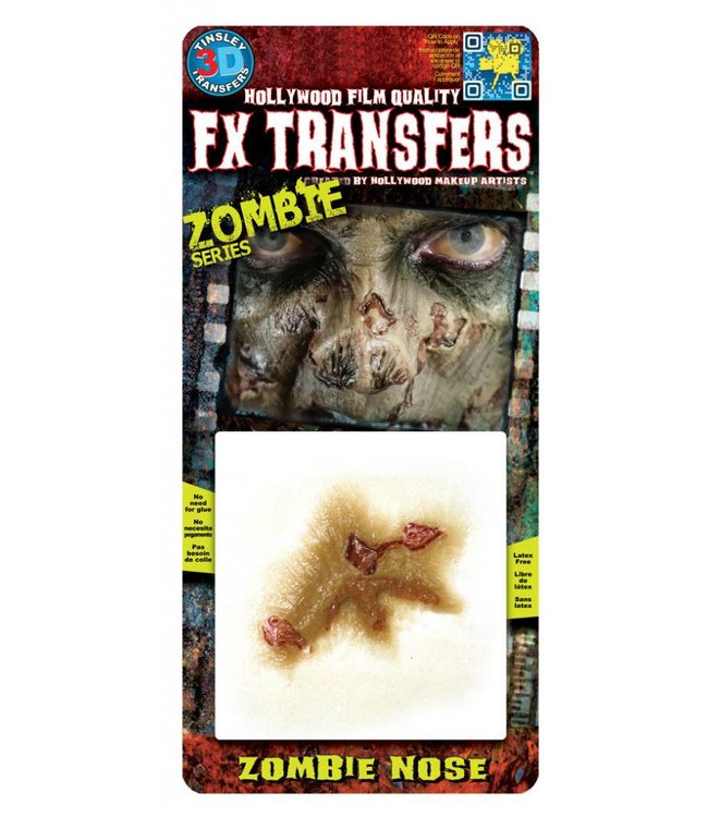 Tinsley Transfers Zombie Nose 3D FX Transfers