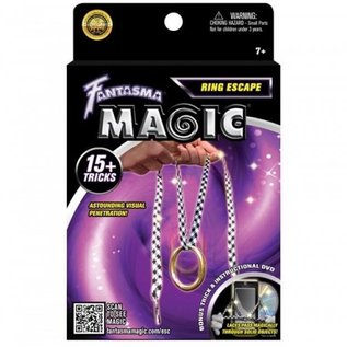 Ring Escape w/DVD by Magick Balay from Fantasma Toys(M9)