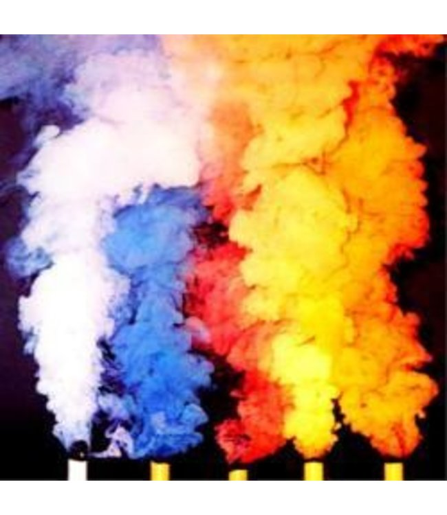 Smoke Cartridge Assorted Colors 5 Pack - 3 min by Theater Effects Inc.