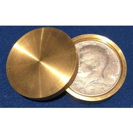 Ronjo Okito Box Double Boston Half Dollar Sleek 1 Coin by Gary Brown