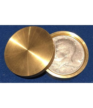 Ronjo Okito Box Double Boston Half Dollar Sleek 1 Coin by Gary Brown
