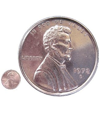 Jumbo Coin, Penny - 3 inch  (M10)