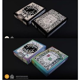 Magician Knows Black and White and Color Set Playing Cards Deck by 808 Magic