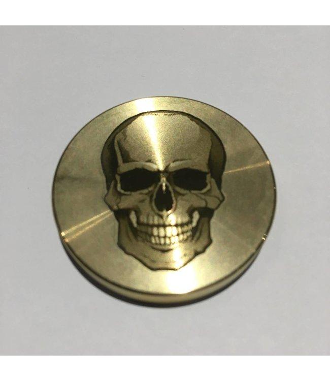 Ronjo Okito Box Lid Skull, Half Dollar