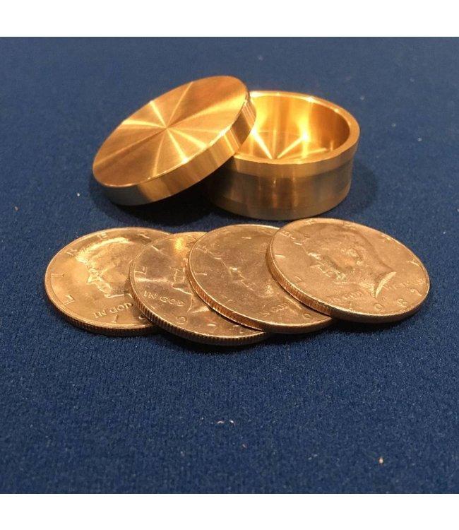 Ronjo Okito Box Slot Half Dollar 4 Coin, Beveled - By Ronjo