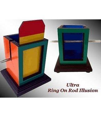 Ultra Ring on Rod by Fun Time Magic