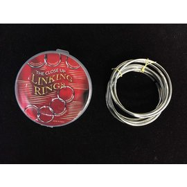 Close Up Linking Rings - Set of 8 by Sorcery Manufacturing