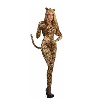 Forum Novelties Sly Leopard Bodysuit M/L 8-12