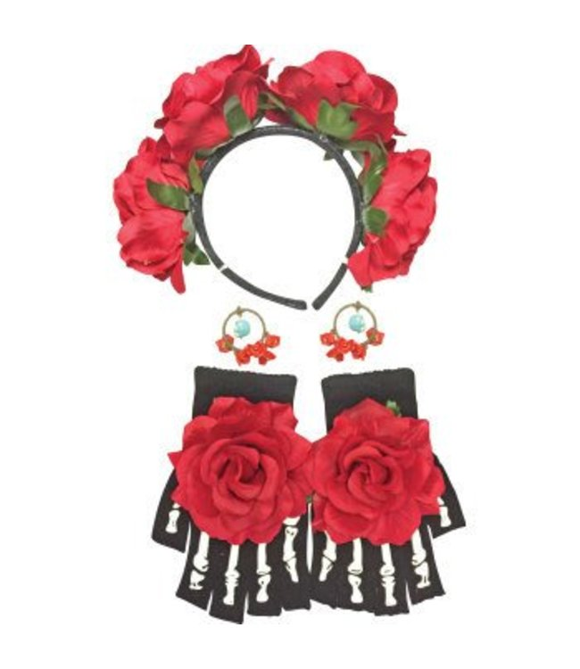 Forum Novelties Day of the Dead Female Kit