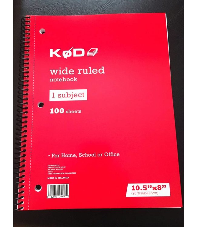 "SvenPad® KøD 8.5x11"" - Stage Size (Single) by Brett Barry and Phoenix Mentalist"
