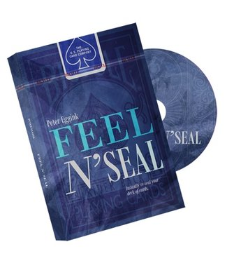 Feel N' Seal Blue (DVD and Gimmick) by Peter Eggink - DVD (M10)