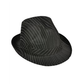 Striped Fedora Hat (/343) by Rinco