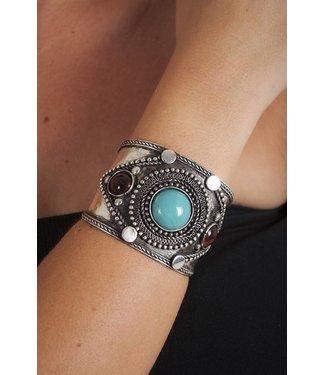 Metal Cuff - Antique Silver by Western Fashion Inc.